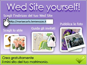 Wed Site: il mini sito del tuo matrimonio