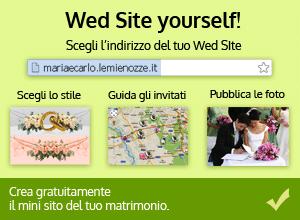 Wed Site: il mini sito del tuo matrimonio