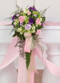Foto di fiori e allestimenti per il matrimonio