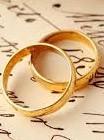 immagine Fedi nuziali e anello di fidanzamento