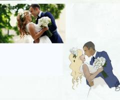 Ritratti matrimonio di Marialuisa De Giosa