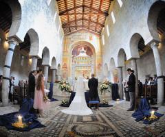 Il matrimonio in abbazia: dal rito alla festa!